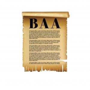 BAA HIPAA risks